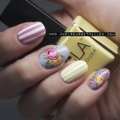 Flowers + Stripes