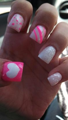 Cute nails! #simple #nail #design Nails | Nail simple nail designs