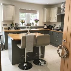 Small Kitchen Remodeling Good evening all! My kitchen has been featured by for Small Kitchen Diner, Kitchen Diner Extension, Open Plan Kitchen Living Room, Kitchen Dining Living, New Kitchen, Small Kitchen With Island, Kitchens With Islands, Small Open Kitchens, Diy Kitchen Decor