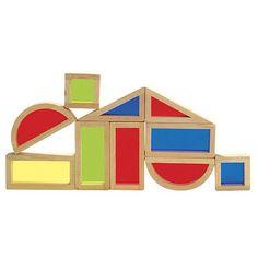 Rainbow Blocks 10 Piece