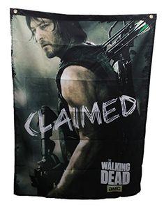 The Walking Dead AMC Daryl Dixon Claimed Banner @ niftywarehouse.com