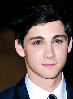 Logan Lerman's eyes.....