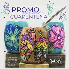 Painted Rocks Kids, Painted Pots, Muse Art, Posca, Mexican Art, Pottery Painting, Clay Pots, Easy Drawings, Decoupage