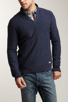 Notch Collar Sweater
