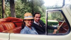 Hayley Atwell & James D'Arcy Take A Spin In New BTS Image From AGENT CARTER Season 2