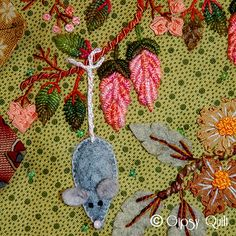 I need a mouse on my crazy quilt. :)