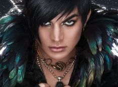 Adam Lambert does his makeup better than me... But I don't care I love him