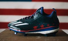 new arrival 7a335 dcaf1 USA adidas Energy Boost Icon Cleats (1) Baseball Cleats, Baseball Players,  Adidas