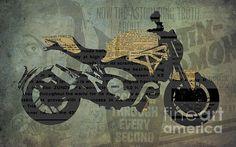 Fine Art Prints on sale on Fine Art America Paper, canvas & metal, framed, iphone cases #motorcycle #gift #originalart #artprint #artwork #motogp