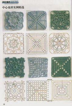 Bildergebnis für cobertor de croche com grafico