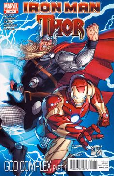 Iron Man/Thor #1 cover (from January 2011), cover art by Ron Garney