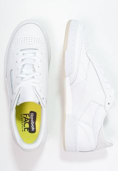 Reebok Classic CLUB C 85 FACE - Trainers - clarity/wonder for £65.00 (13/07/16) with free delivery at Zalando