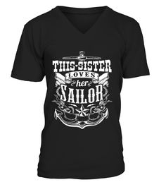 This sister loves her sailor    => Check out this shirt or mug by clicking the image, have fun :) Please tag, repin & share with your friends who would love it. #sailormug, #sailorquotes #sailor #hoodie #ideas #image #photo #shirt #tshirt #sweatshirt #tee #gift #perfectgift