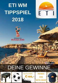 WM Tippspiel 2018 WM Tippspiel, Tippspiel, Tippspiel 2018 Fifa World Cup Fifa World Cup ETI WM-Tippspiel 2018 Tippe & Gewinne Weltmeisterschaft 2018 World Cup 2018, Fifa World Cup, Fifa 20, Poster, Red Sea, World Championship, Games, Vacation, Travel