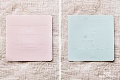 Romantic Mint & Peach Square Invitation with lace - Invitation Stationery Lace Invitations, Stationery, Peach, Mint, Romantic, Sousse, Paper Mill, Stationery Set, Peaches