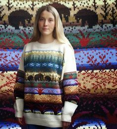 Neuleet Fair Isle Knitting Patterns, Knitting Ideas, Christmas Sweaters, Knitwear, Knit Crochet, Diy And Crafts, Vest, Fair Isles, Color