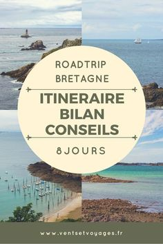Le détail de notre roadtrip d'une semaine en bretagne #roadtripbretagne #breizh