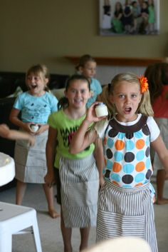 Make your own summer camp- great post with lots of great ideas!