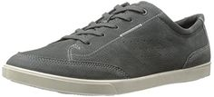 ECCO Mens Collin Classic Tie Synthetic Fashion Sneaker Dark Shadow 45 EU11115 M US >>> Check out this great product. #MenFashion
