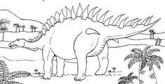 """Résultat de recherche d'images pour """"coloriage dinosaure"""""""