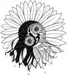 My Sunflower Tattoo- RD by ~elusiveCONQUEROR on deviantART