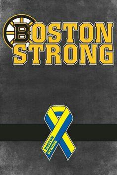 Boston Strong- Boston Bruins logo with Boston Marathon ribbon Boston Sports, Boston Red Sox, Milan Lucic, Boston Bruins Logo, Nhl Wallpaper, Dont Poke The Bear, Red Sox Nation, Red Sox Baseball, Boston Strong