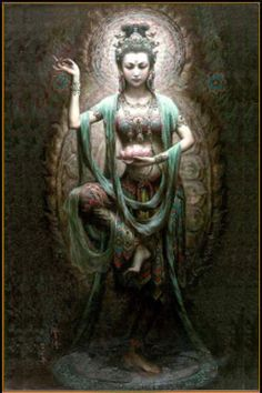 Green Tara; Buddha of Enlightened Activity and Compassion.
