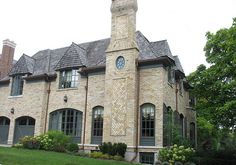 Cadillac Buff Reclaim bricks  re-used to build this beautiful house by CWB MTL, via Flickr