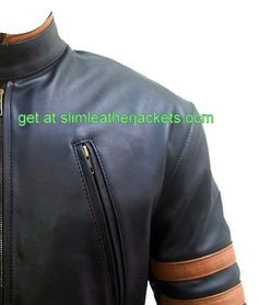 #famous #X-Men #wolverine #leather jackets only for lover #Hughjackmans specially offers free shipping at slimleatherjackets .com