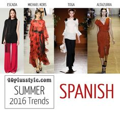 The best trends for spring and summer 2016 for women over 40   40plusstyle.com