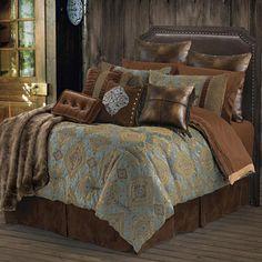 Bianca II Comforter Set Lodge and Western Bedding