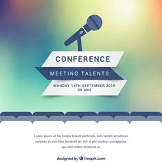 corporate conference / event marketing poster design
