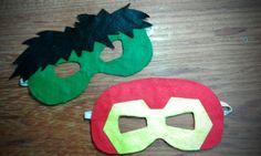 Máscara de Feltro