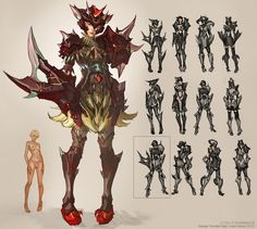 CHRIS J. ANDERSON'S Latest Concept Art: CHARACTERS - MMO