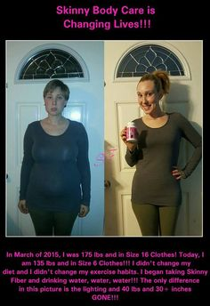Way to go Brittany!! Amazing!!!!  You all asked and here it is! My updated picture!!! I have stayed the same since January at 135 lbs since stopping Skinny Fiber! I am not gaining weight back and still eating whatever I am wanting. I am making healthier choices because Skinny Fiber HAS Stopped my cravings for complete junk! But... I have never dieted and don't plan on starting so I still do enjoy eating snacks on occasion. Now... I am taking HiBurn8 every single night (that I remember to…
