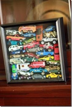 Cute Display for All Those Old Cars