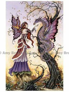 Fairy and Dragon love