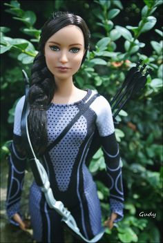 Katniss Everdeen, girl on fire doll :) photo by Gudy