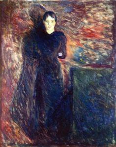 Olga Buhre, Edvard Munch, 1891