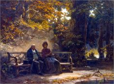 Artist: Carl Spitzweg (-) - all paintings from this artist available as fine art prints, canvas prints, paper prints or hand painted oils. Mary Cassatt, Henri Matisse, Vincent Van Gogh, Claude Monet, Carl Spitzweg, Person Drawing, Academic Art, Antique Paint, Old Paintings