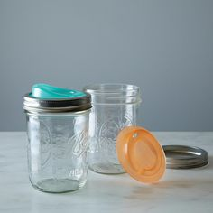 Cuppow Drinking Lids: Wide (Set of 2) on Provisions by Food52