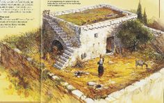 Ancient Hebrew houses