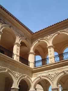Lorca - Murcia. Spain. Restored La Merced Cloister