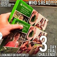 Who is ready to start their Herbalife Trial Pack and change their life today? Herbalife Recipes, Herbalife Shake, Herbalife Nutrition, Herbalife Products, Herbalife Distributor, Independent Distributor, Getting More Energy, Nutrition Club, Looking For People