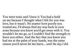 Toxic relationships | Pinterest: mary*