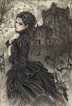 Random Victoria Frances Gothic Artworks: Sit Back and Enjoy the Show! | Phi Stars