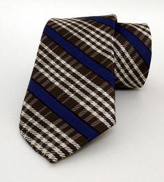 Brown Mens Tie 7 cm (2,76 #handmadeatamazon #nazodesign