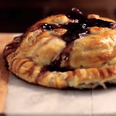 Brie In Puff Pastry recipe