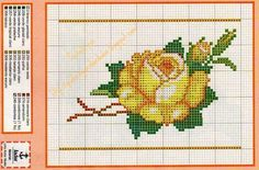 ! Graphics voor borduurwerk: Bloemen en Harten