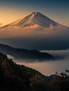Les plus beaux sommets enneiges du monde Mont Fuji Japon